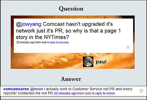 Comcast Cares Conversations